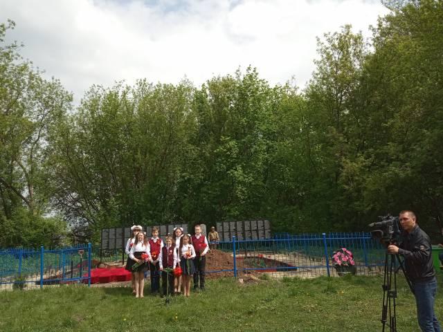 Открытие «Вахты Памяти-2019»: захоронение советских солдат в Поныровском районе